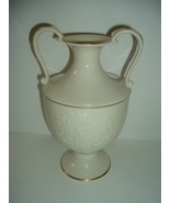 Lenox Patterned Double Handled Tall Vase - $46.79