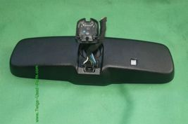 10-12 Ford Fusion Rear View Mirror w/ Camera Display & Compass 8U5A-17E678-DE image 4