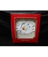 "Hallmark Keepsake ""Word Of Love - Christmas 1987"" 1987 Porcelain Ornamen... - $9.80"
