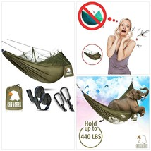 Camping Hammock with Net - Lightweight COVACURE Double Hammock, Portable... - $45.51