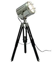 NauticalMart Vintage Floor Searchlight With Tripod Base  - $189.00