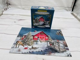 """""""Natures Gift"""" - Sparkles In Light Holiday Series 100 Pc Puzzle Complete F - $10.88"""