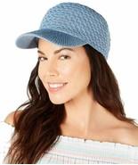 INC International Concepts Womens Packable Baseball Cap (Blue) - $14.75