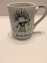 Enesco Mug Cup Marci Children of The Inner Light Special Someone White Black 3D - $12.19
