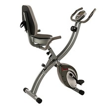 Sunny Health & Fitness Folding Exercise Bike with Magnetic Semi Recumben... - $224.99
