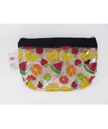 Just Be Zippered Purse Kit Cosmetic Travel Case - New - Fruits - $9.49