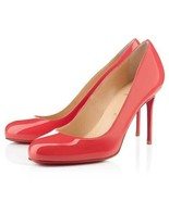 NIB Christian Louboutin Fifi 80mm Pumps Red MSRP $695 - $475.00