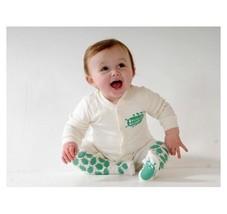 Creeper Crawlers Unisex Baby East Grip Crawl Bodysuit, Off-white (cream)... - $20.69