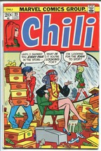 CHILI  #23 1973-MARVEL-MILLIE THE MODEL-FASHIONS-SPICY-GOOD GIRL ART-vg - $18.62