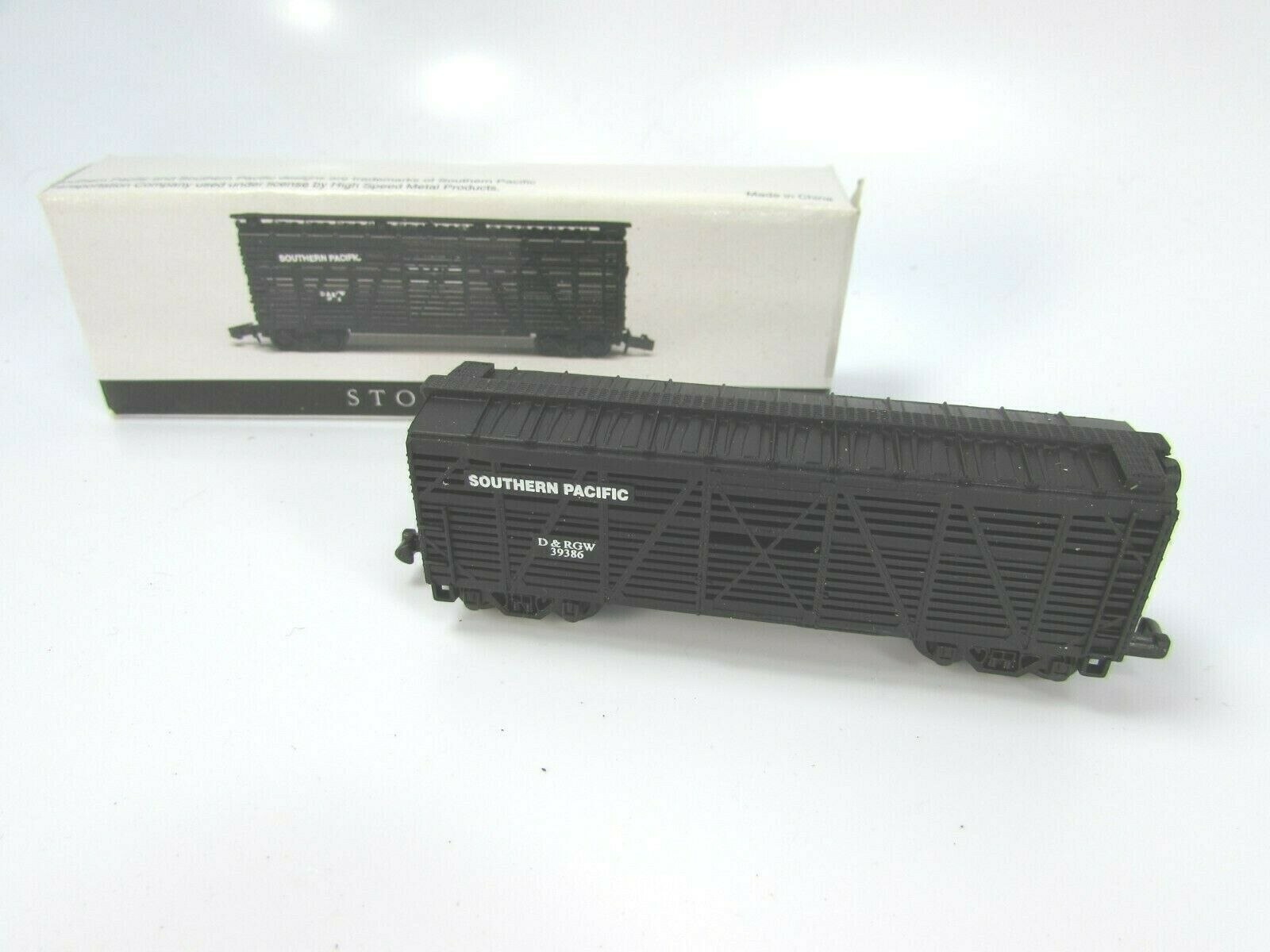 High Speed Metal Products Southern Pacific Black Stock Car N Gauge 30122