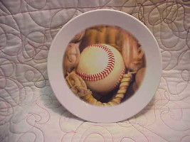 "Softball / Baseball & Glove,  7"" Very Fine Collector Plate C-269 - $19.99"