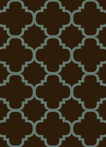 PREMIUM 3D Hand Carved Modern 5x8 5x7 Rug Contemporary 4518 Brown Smoke ... - $119.00