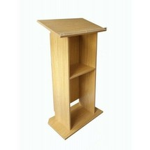 Wood (MDF) Podium Church Pulpit conference Podium Pulpit Lectern Recepti... - $145.57