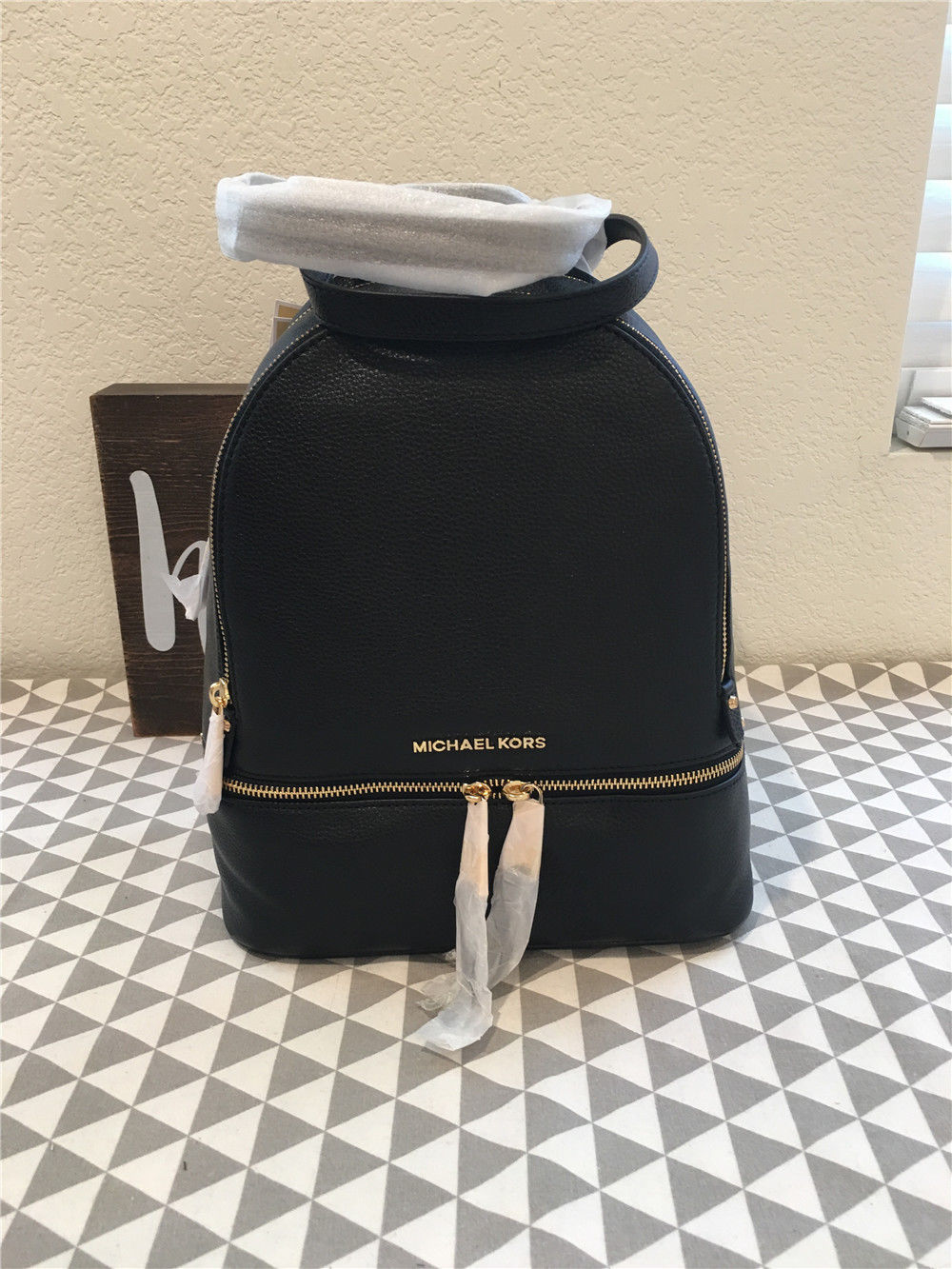 d7477cac0e1c Michael Kors Rhea Medium Leather Backpack and 50 similar items. 57