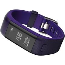 Garmin Vivosmart Hr+ Activity Tracker (regular Fit; Imperial Purple And ... - $236.66