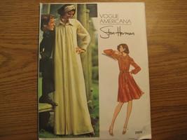 2975 Stan Herman Dress Vogue Americana Sewing Pattern Misses' Sz 14 - $11.25