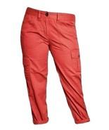 Tommy Hilfiger Women's Cropped Cargo Pants Capri  Chrysanthemum  Sz 4 6 ... - $19.79