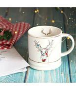 LOULONG® Nordic Style Exquisite Gift Box Merry Joyous Golden Elk Forest ... - $34.50