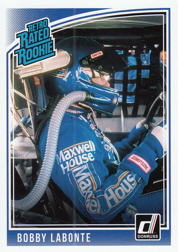 Bobby Labonte 2019 Donruss Racing Retro Rated Rookie Card #21