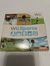 Wii Sports (Wii, 2006) Complete In Box CIB TESTED Good Disc! - $23.36