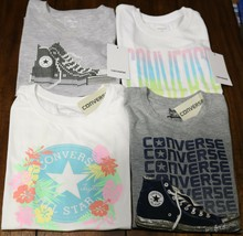 Converse  Chuck Taylor T-Shirts Grafic Tee Girls Youth S, M, L, XL - $14.99