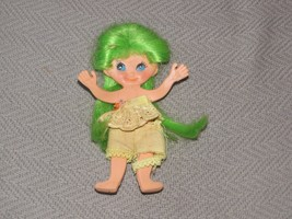 Vtg 60s FLATSY Doll Green Hair IDEAL Flat bendable toy - $17.22