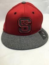 adidas NCAA North Carolina State Wolfpack Flatbrim Flex Hat Cap Large/XL - $24.24