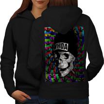 Skull Weed Cannabis Rasta Sweatshirt Hoody Dead Rasta Women Hoodie Back - $21.99+