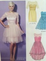 McCalls Sewing Pattern 7321 Ladies Misses Petite Dresses Size 6-14 New - $18.13