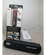 VuPoint Magic Wand Red Portable Scanner ST415R with Hard Storage Case - $39.99