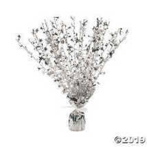 Silver Starburst Decorations  - $6.49
