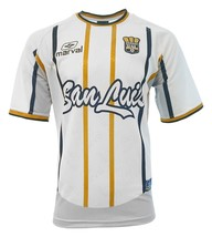 San Luis  Adult Soccer Jersey White by Marval - $39.99