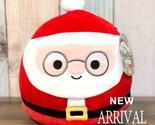 "Kellytoy Squishmallows 11"" Nick Santa Claus NEW Holiday 2020 LT ED Plush HTF Toy - £29.77 GBP"