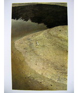 Andrew Wyeth Gravure Print THE PATRIOT and RIVER COVE, Maine - $17.33