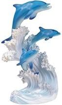 George S. Chen Imports SS-G-90085 Marine Life Three Dolphin Design Figur... - $21.64
