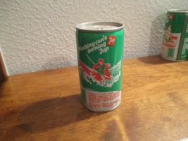 Washington WA WN turning 7up vintage pop soda metal can Kayaking Skagit ... - $10.99