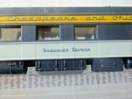 Micro-Trains # 14600410 Chesapeake & Ohio 80' Heavyweight Diner Car N-Scale image 4