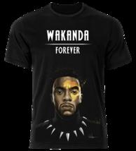 Wakanda Forever Black Panther Top Fashion Style Custom T-shirt Men Women... - $13.30