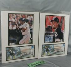 2 Photo File Baseball Returns To Shea New York Sept 21, 2001 Stamp Mike ... - $49.49