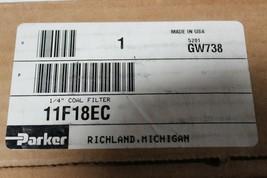"Parker 11F18EC 11F Series Pneumatic Compact Coalescing Filter 1/4"" Ports New image 2"