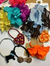 Gymboree Other Brands Hair Barrette Clip Snap Flowers Ponytail Holder New & Used - $2.95