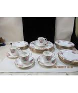 Mikasa Country Roses 24 piece china set dinner, salad plates, bowls C&S ... - $173.25
