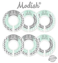 Modish Labels Baby Nursery Closet Dividers, Closet Organizers, Nursery D... - $12.49