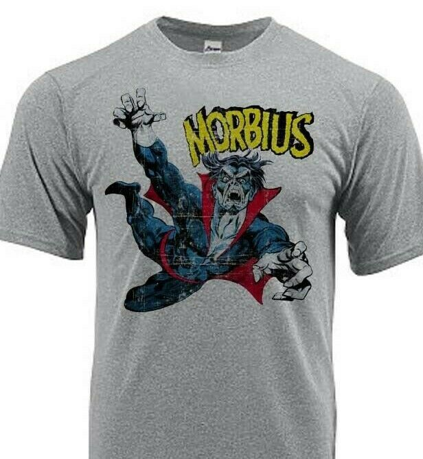 Morbius Dri Fit graphic Tshirt moisture wicking superhero comic book SPF tee