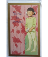 Tom Tierney Vintage Paper Doll Greeting Card You're So Special Shackman ... - $9.99