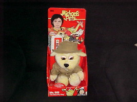 Michael Jackson Pets Mr. Bill Security Plush Dog W/Box & Cassette Bonus ... - $233.74