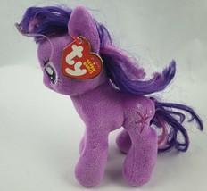 "TY My Little Pony Twilight Sparkle 7.5"" Plush Purple Unicorn Beanie Babi... - $12.60"