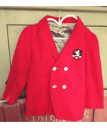Vintage Lo-Bel New York Wool Blazer with coat of arms patch Boys size - $18.00