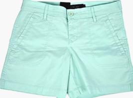 Calvin Klein Jeans Women's Casual Stretch Shorts  Minty Glow  Sz 4 6   - $14.85+