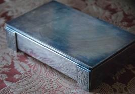 VINTAGE CIGAR BOX KING NEPTUNE GREEK GOD MYTHOLOGY SOUVENIR TRIDENT MERM... - $29.99